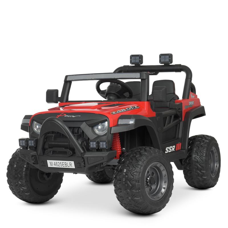 Детский электромобиль с пультом управления Bambi M 4625EBLR-3 Красный