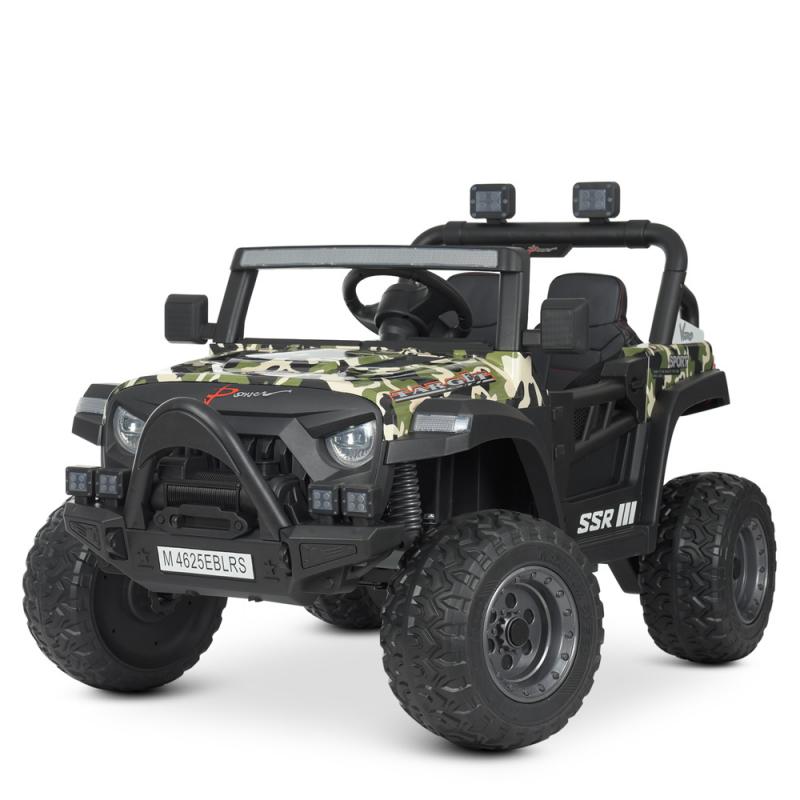 Детский электромобиль с пультом управления Bambi M 4625EBLRS-18 Камуфляж