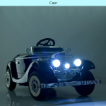 Детский электромобиль Mersedes 540k Bambi M 4628EBLRS-2 Черный