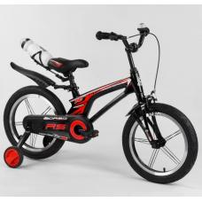 Магниевый двухколесный велосипед Corso 83564 Черный