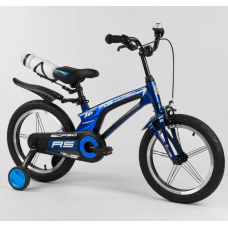 Магниевый двухколесный велосипед Corso 21235 Синий