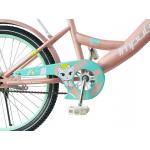 Детский двухколесный велосипед Impuls-bike Beaver Kitty 20 Карамельный