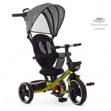 Детский трехколесный велосипед Turbo Trike М 5447PU-17 Хаки