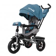 Трехколесный велосипед с пультом Baby Tilly Cayman T-381/6 Ле