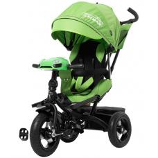Трехколесный велосипед с пультом Baby Tilly Cayman T-381 Зеле