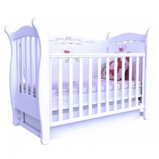Детская кроватка Верес Соня ЛД-15 с ящиком Белый