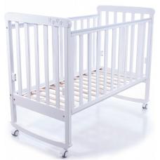 Детская кроватка Верес Соня ЛД-12 без ящика Белый