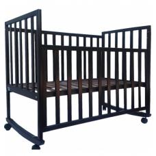 Детская кроватка Верес Соня ЛД-13 без ящика Орех