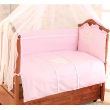 Сменный комплект постельного белья с вышивкой Greta Амур (цве