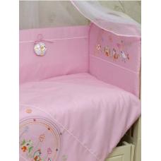 Постельный комплект Greta Радуга Розовый