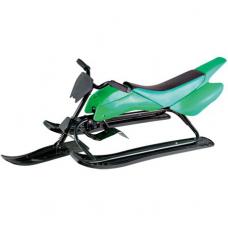 Детский снегокат-мотоцикл Kidigo Зеленый