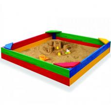 Квадратная песочница Sportbaby