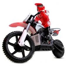 Мотоцикл на радиоуправлении Himoto Burstout MX400 Brushed Кра