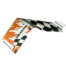 Летающее крыло Tech One Mini Popwing 60 см EPP ARF Черный (TO