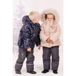 Зимняя куртка для девочки Модный Карапуз Ваниль (03-00544)