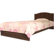 Детская кровать Вальтер Мишка (190x120 см) Орех-темный венге