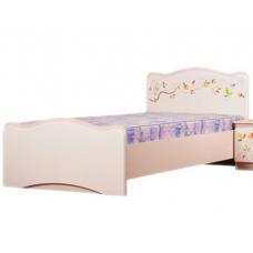 Детская кровать с ящиками Вальтер Цветы жизни (190x120 см)  В