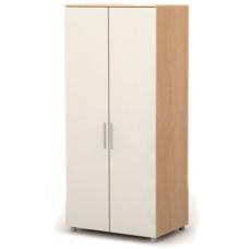 Двухдверный шкаф M-02-4 Briz  Mega