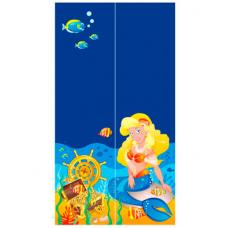 Двухдверный шкаф Od-02-5 Briz Ocean Русалка