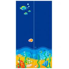 Двухдверный шкаф Od-02-6 Briz Ocean Море