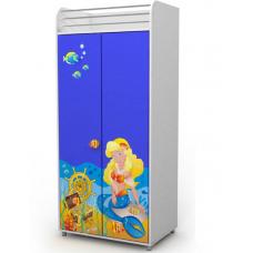 Двухдверный шкаф Od-02-2 Briz Ocean Русалка