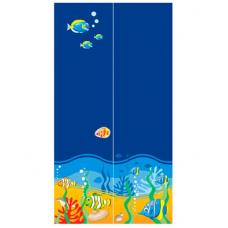 Двухдверный шкаф Od-02-3 Briz Ocean Море