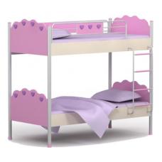 Двухъярусная кровать Pn-12 Briz Pink