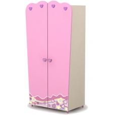 Двухдверный шкаф Pn-02-1 Briz Pink