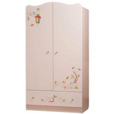 Детский шкаф Вальтер Цветы жизни Ваниль